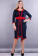 Платье Элиз синий , фото 1