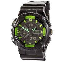 Casio G-Shock GA 110 G Black-Green