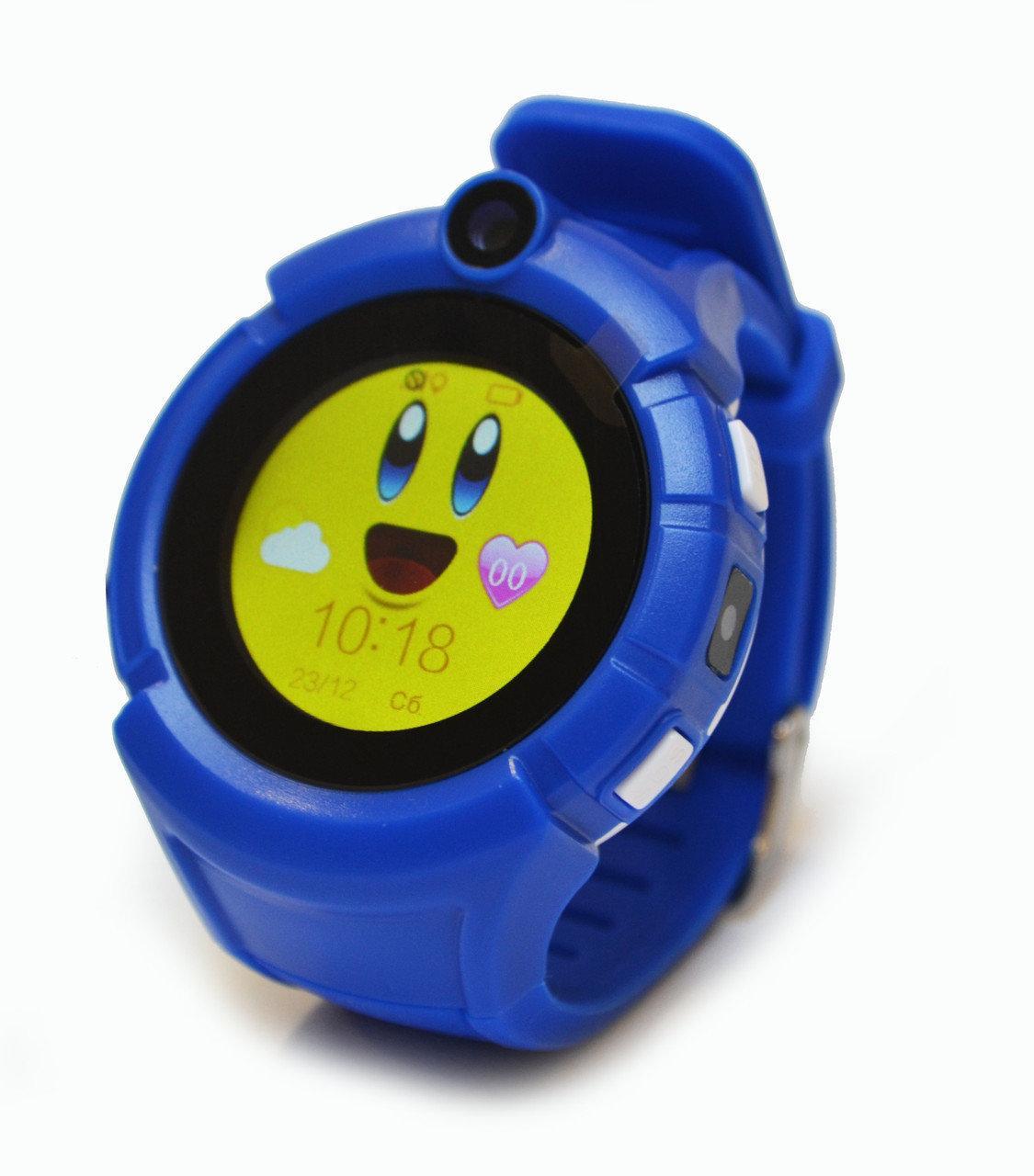 Детские умные часы с GPS Smart baby watch Q610S Dark Blue