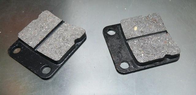 Колодки дисковые GY6-60