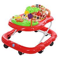 Ходунки детские Bambi (R28-3) 8 колес, звуковые эффекты