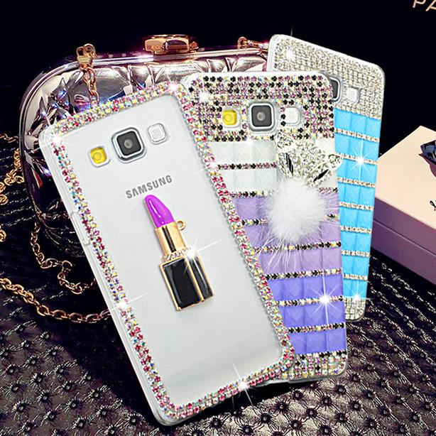 """Samsung G530 / 531 GRAND PRIME со стразами камнями чехол панель бампер оригинальный для телефона """"DIMOND STAR"""""""