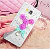 """Samsung G530 / 531 GRAND PRIME со стразами камнями чехол панель бампер оригинальный для телефона """"DIMOND STAR"""", фото 7"""