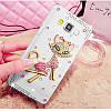 """Samsung G530 / 531 GRAND PRIME со стразами камнями чехол панель бампер оригинальный для телефона """"DIMOND STAR"""", фото 8"""