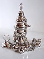 Кадило малое, никелированное., фото 1