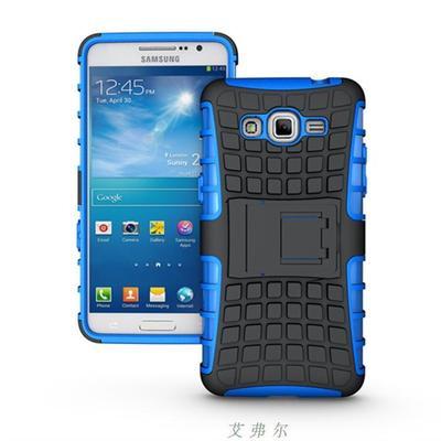 """Samsung G530 / 531 GRAND PRIME противоударный TPU силиконовый 3D чехол бампер для телефона """"S SHEILD"""""""