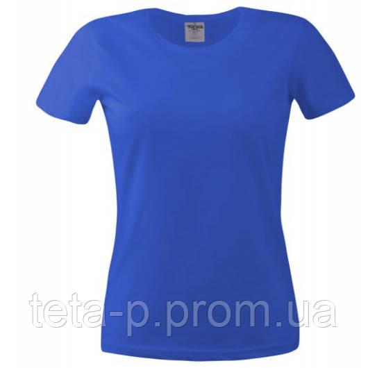 Футболка женская Keya 150G, синий королевский