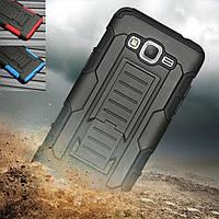 """Samsung G530 / 531 GRAND PRIME противоударный TPU силиконовый 3D чехол бампер для телефона """"ARMY NAVY"""""""