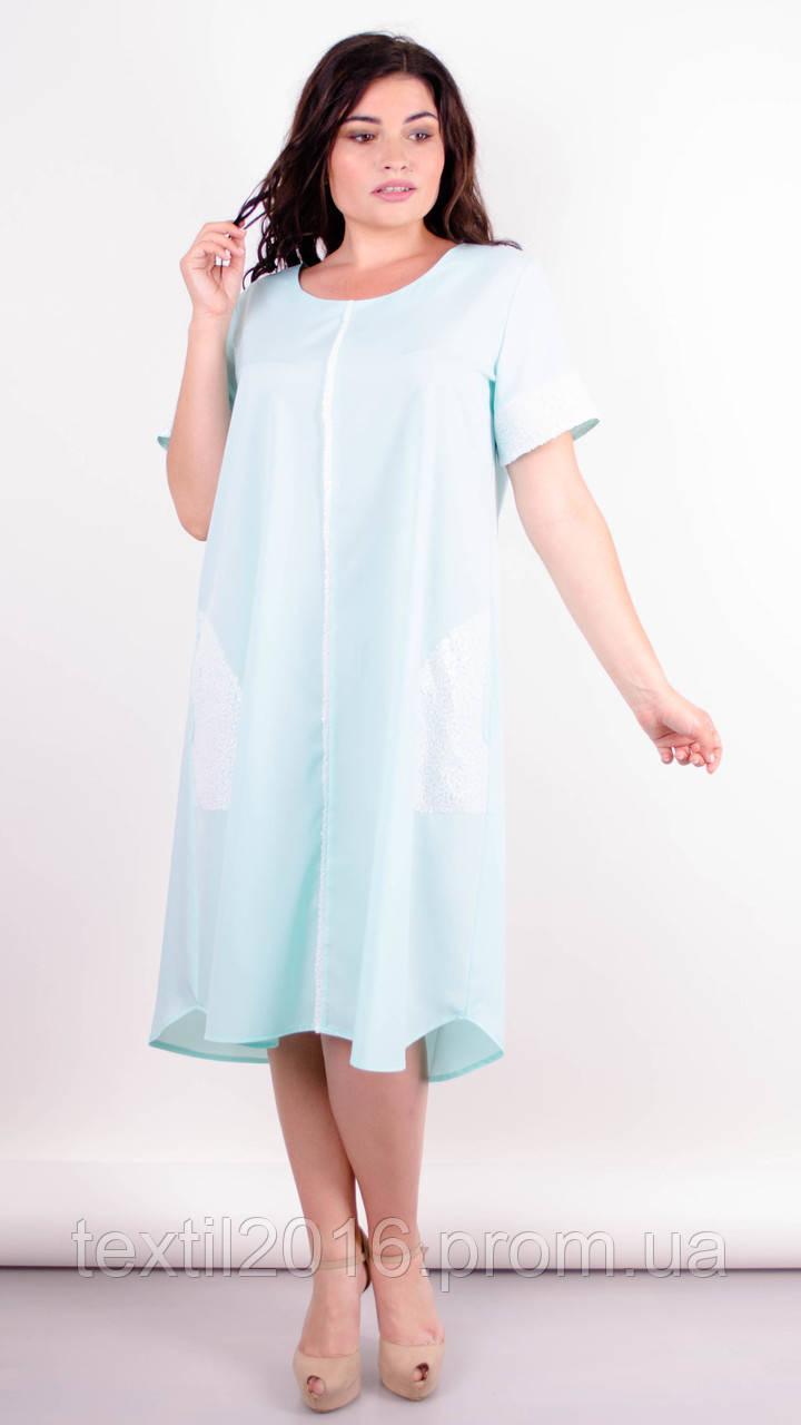 Платье женское праздничное Стефания мята