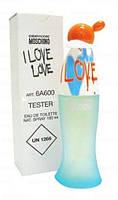 Тестер Moschino Cheap and Chic I Love Love для женщин