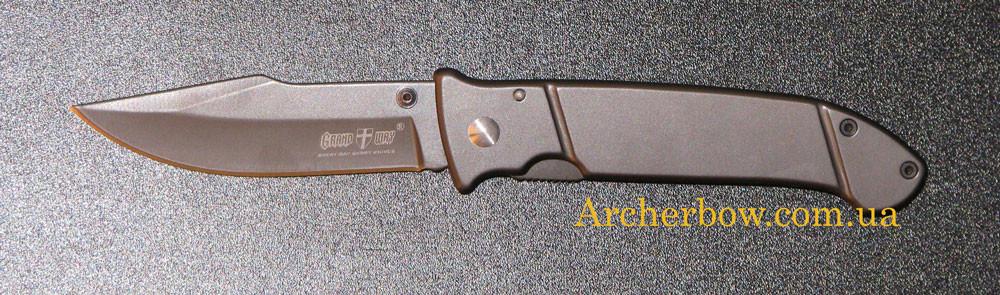 Нож складной GRAND WAY 01989 A (titanium)