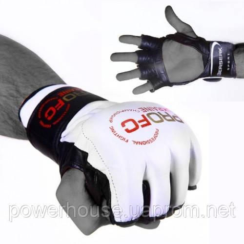 Перчатки для смешанных единоборств 4 oz ProFC Размер С, М