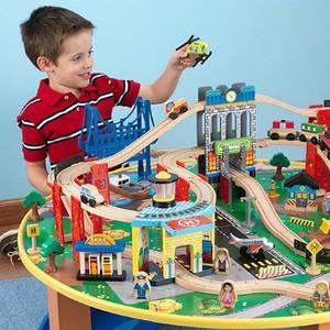 Дитячі залізниці, автотреки