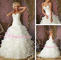 Милое свадебное платье с вышивкой бисером , фото 1