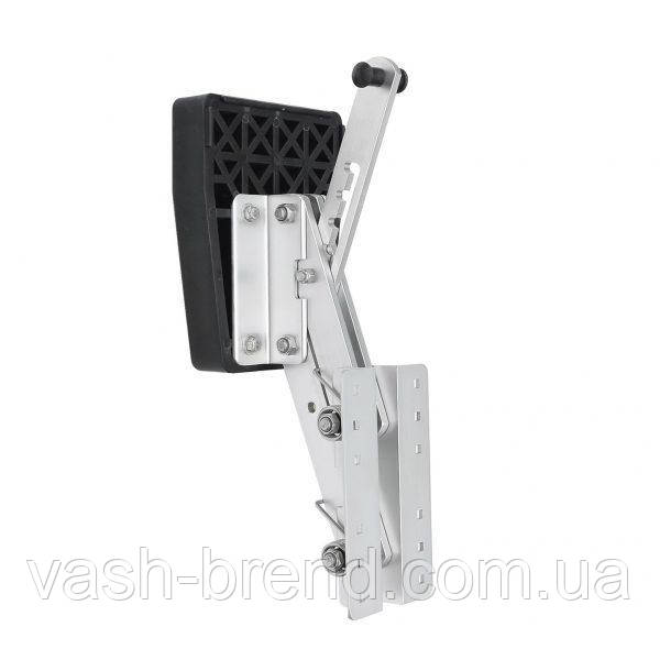 Крепление (навесной транец) алюминий для лодочного мотора 15-30кг пластина пластик 3501003