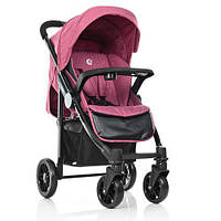 Прогулочная коляска el camino 1027L розовая
