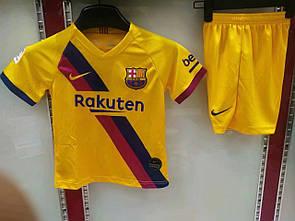 Детская футбольная форма Барселона , выездная, сезон 2019/20