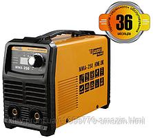 Сварочный инвертор Kaiser MMA-250 HOME LINE дисплей  (88076)