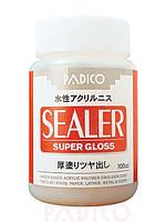 Лак суперпрочный финиш глянец Padico Sealer (Япония),акриловый,заводская упаковка,на водной