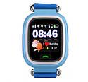 Дитячий Розумний годинник з GPS Smart baby watch Q90S Блакитний, фото 2