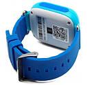 Дитячий Розумний годинник з GPS Smart baby watch Q90S Блакитний, фото 4