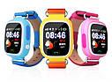 Дитячий Розумний годинник з GPS Smart baby watch Q90S Блакитний, фото 5
