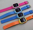 Дитячий Розумний годинник з GPS Smart baby watch Q90S Блакитний, фото 6