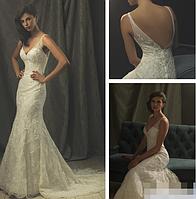 Восхитительное свадебное платье