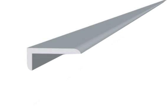 Угол пластиковый ПВХ 10х20мм белый