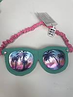Маска для сна эксклюзивная модная «Веселые очки» фирмы Claire's ( оригинал )