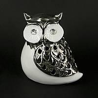 Статуэтка сова керамическая с большими глазами HYS21050-2