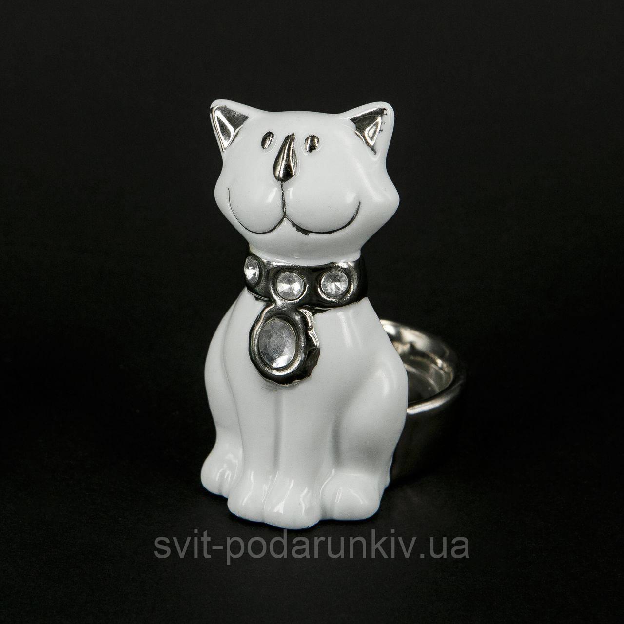 Фигурка кота декоративный подсвечник HYS21132B
