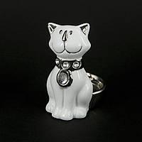 Фигурка кота маленькая с местом для свечи HYS21132B