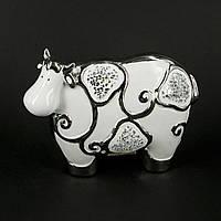 Статуэтка корова из фарфора HYS21179-1
