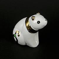 Статуэтка панды из фарфора смотрит на звёзды HYS21217-3J
