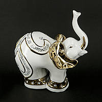 Статуэтка слона из белого фарфора HYS21376J
