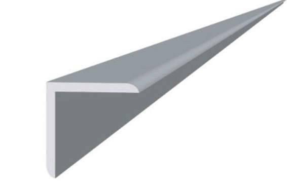 Угол пластиковый ПВХ 20х20мм белый