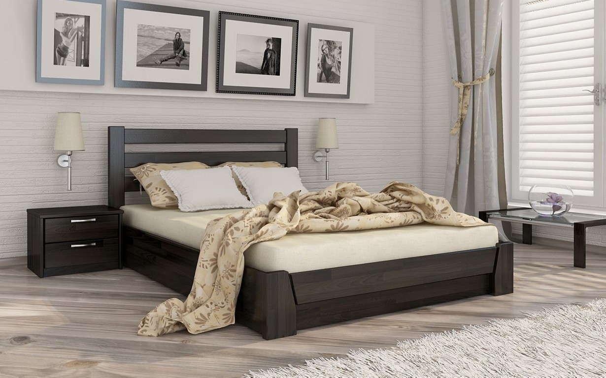 Деревянная кровать Селена с механизмом Массив 120х190 см. Эстелла