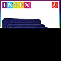 Intex Велюровый матрас надувной Интекс