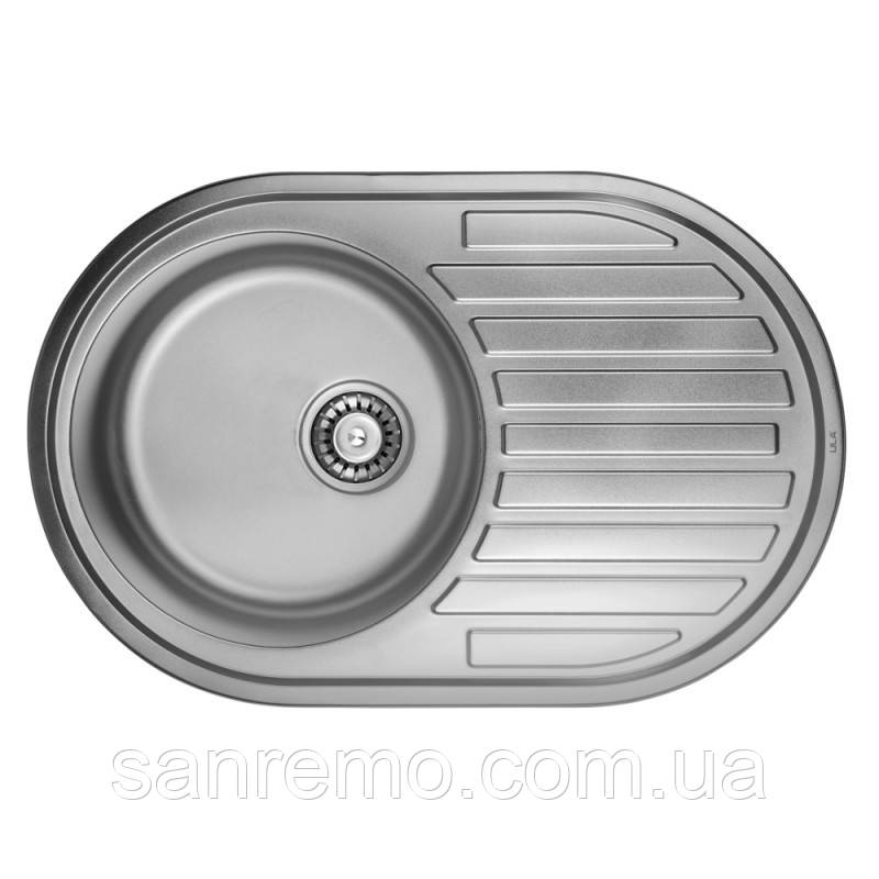Кухонная мойка ULA 7108 U Satin