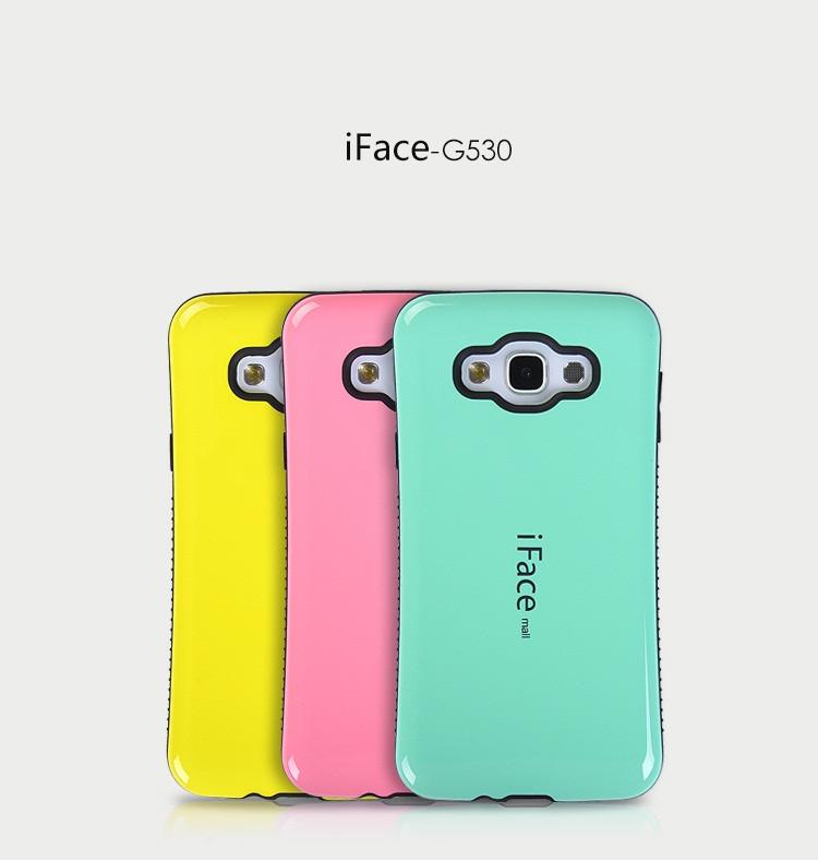 """Samsung G530 / 531 GRAND PRIME противоударный TPU силиконовый 3D чехол бампер для телефона """"IFACE"""""""