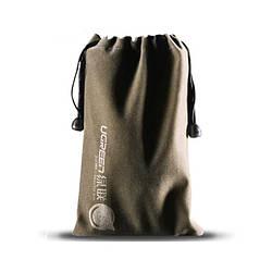 Мешочек Ugreen бархатный для хранения телефона power bank 19*12СМ (LP101)