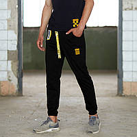 Спортивные мужские штаны Off White Belt черные, фото 1