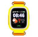 Детские Умные часы с GPS Smart baby watch Q90S Желтые, фото 2