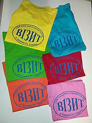 Печать на футболках под заказ