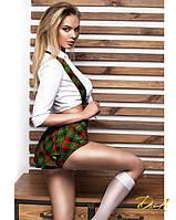 Эротический костюм школьницы (размеры XS, S, M)