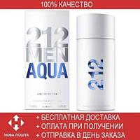 Carolina Herrera 212 Men Aqua EDT 100ml  (туалетная вода Каролина Эррера 212 Мен Аква)