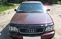Дефлектора капота Ауди А6 (мухобойка для капота Audi A6)