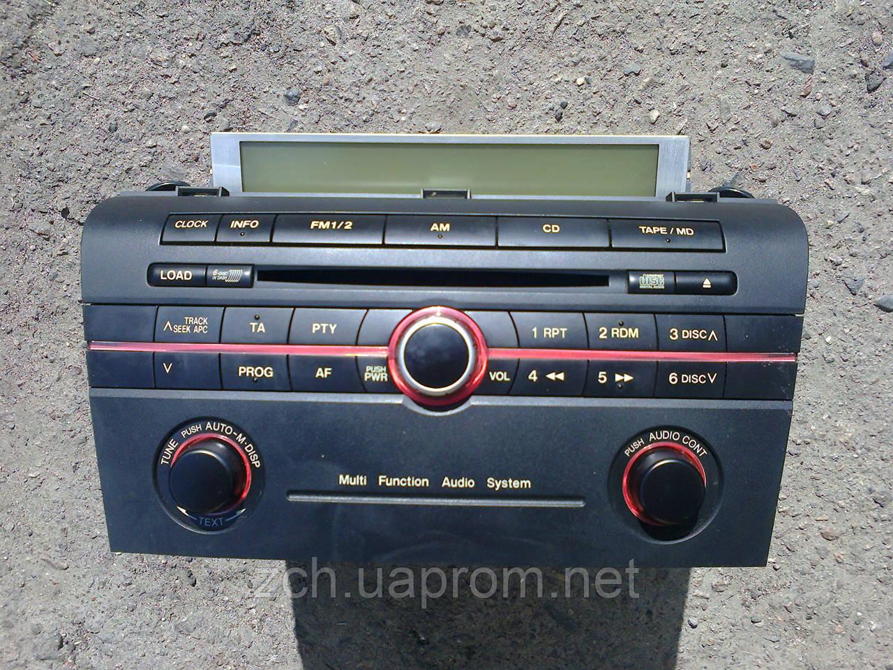 Автомагнитола на 5 дискив, штатная орыгинал  Mazda 3 sedan