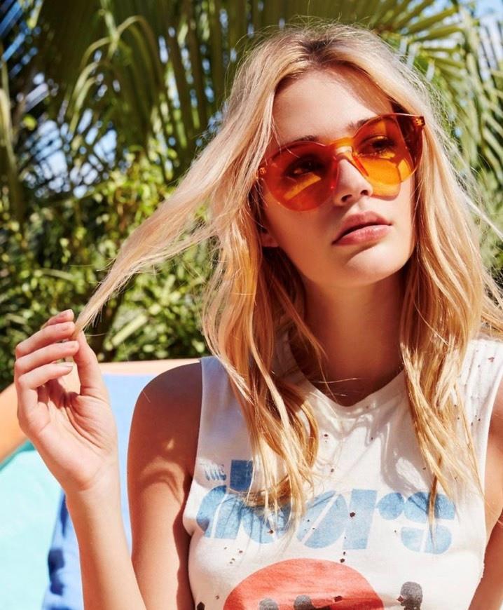 Женские стильные очки без оправы в разных цветах 21790tezOh